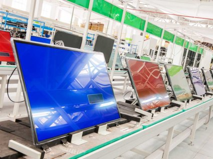 3d global monitor production line